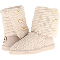 Bearpaw Knit Tall (Linen) Footwear