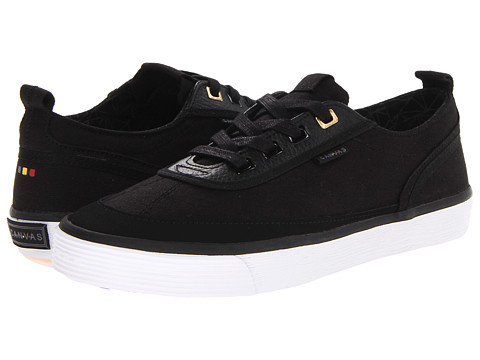 Project Canvas - Mono Low (Black) Skate Shoes