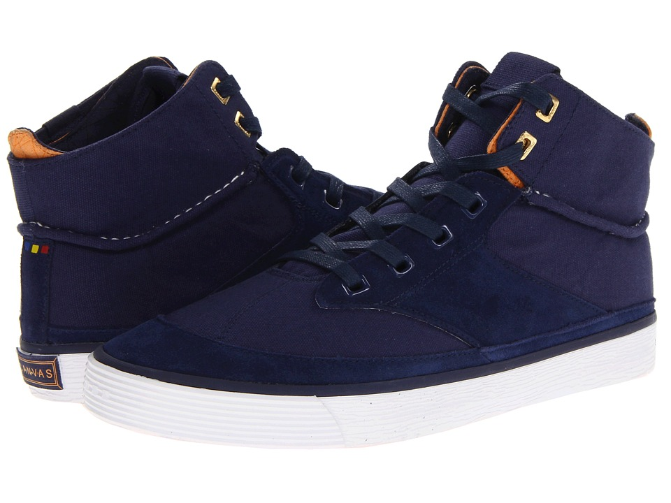 Project Canvas - Mono High (Navy) Skate Shoes
