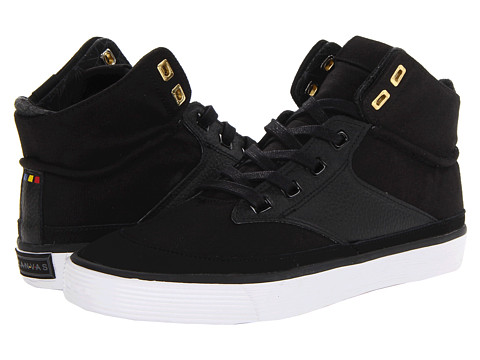 Project Canvas - Mono High (Black) Skate Shoes