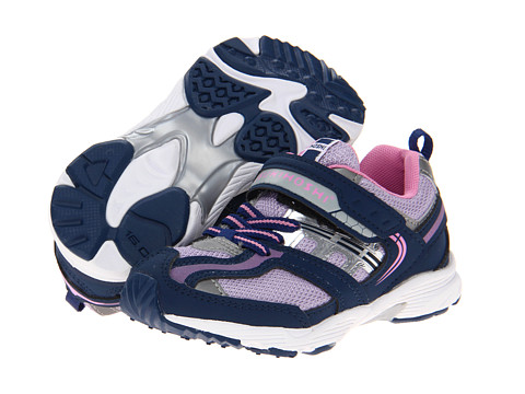 Tsukihoshi Kids - Sprint (Toddler/Little Kid) (Navy/Lavender) Girls Shoes