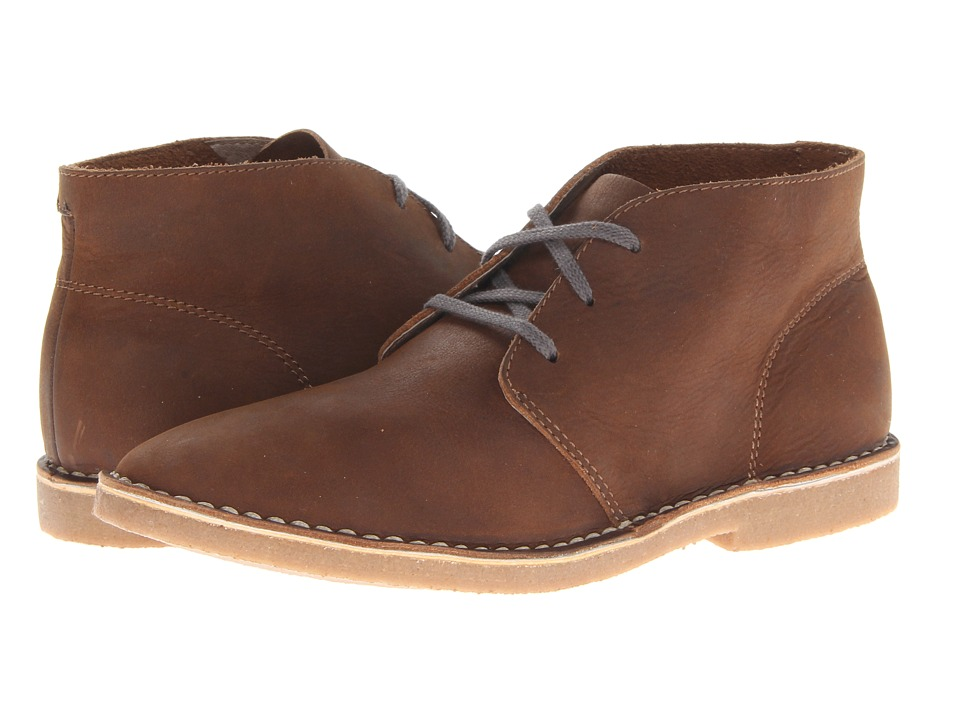 SeaVees - 12/67 3 Eye Chukka (Cigar Pull Up Leather) Men's Lace-up Boots