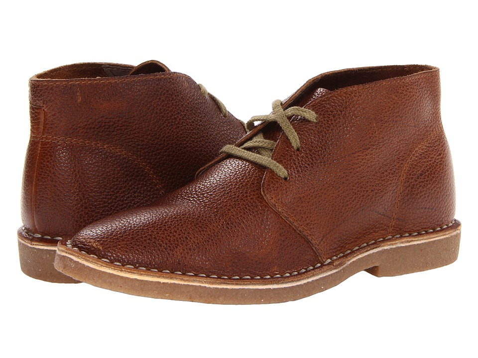 SeaVees - 12/67 3 Eye Chukka (Brass Waxed Leather 1) Men's Lace-up Boots