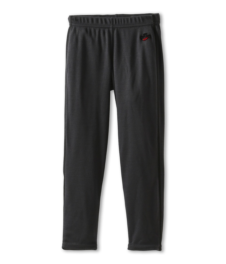 Hot Chillys Kids - Geo Pro Bottom (Little Kids/Big Kids) (Black Heather) Kid's Casual Pants