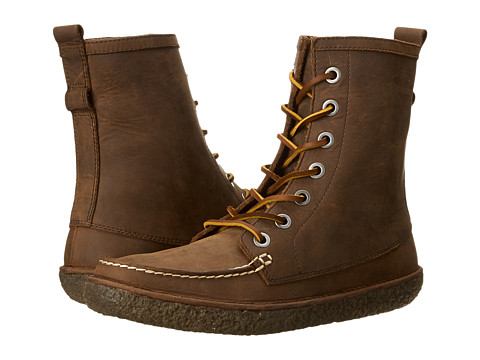 SeaVees - 02/60 7 Eye Trail Boot (Walnut Pull Up Leather) Men