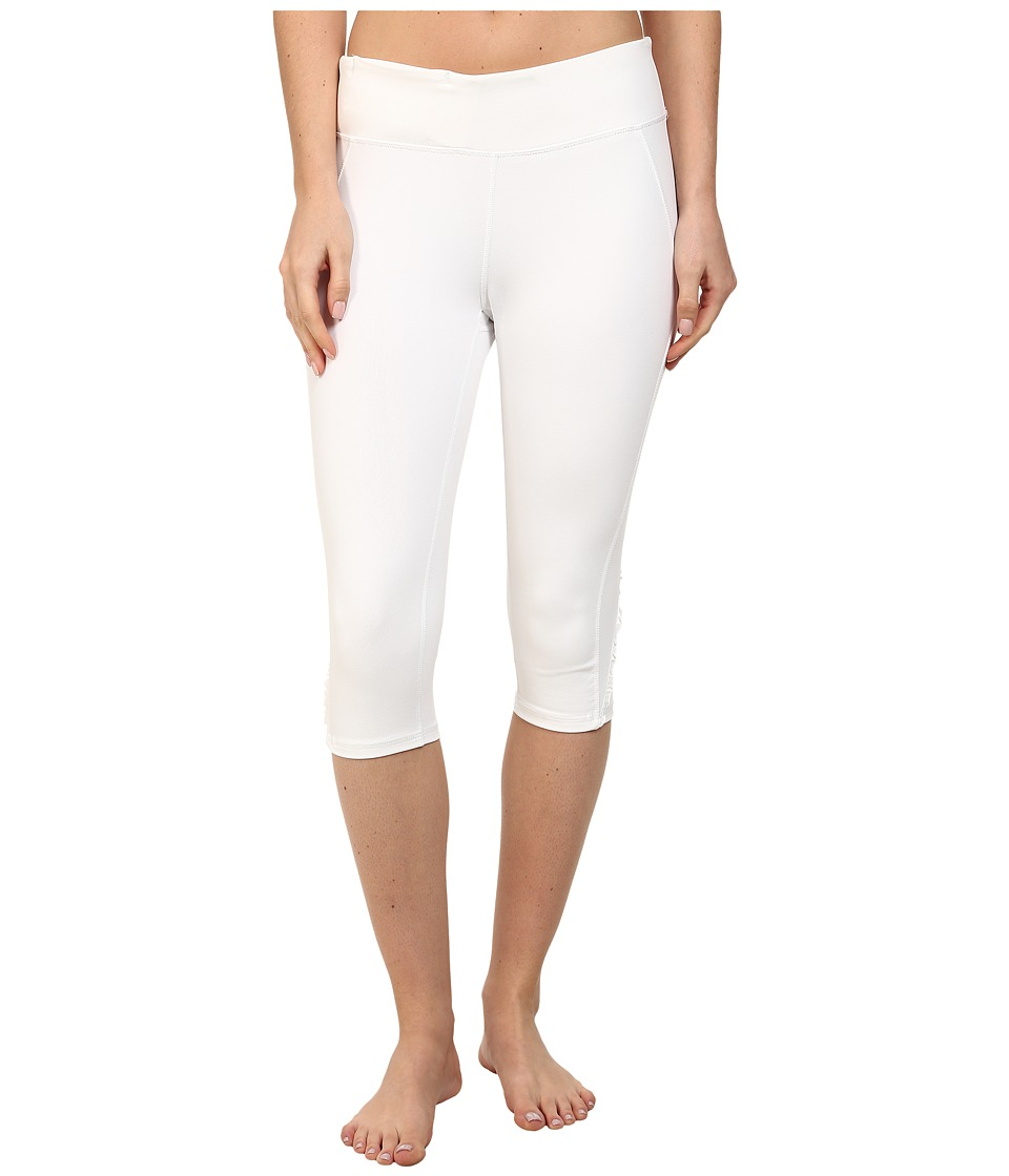 Soybu - Killer Caboose Crop Pant (White) Women's Workout