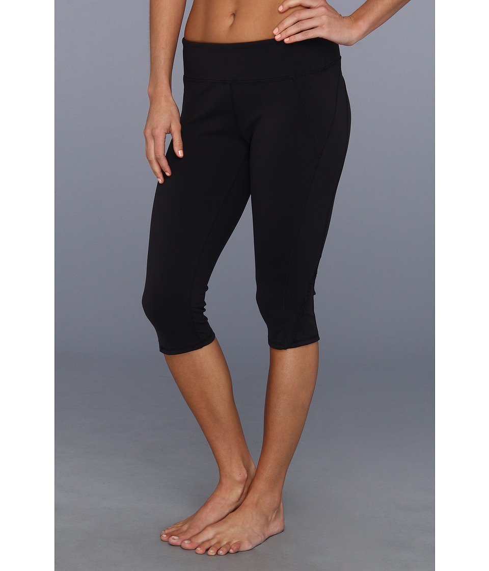 Soybu - Killer Caboose Crop Pant (Black) Women's Workout