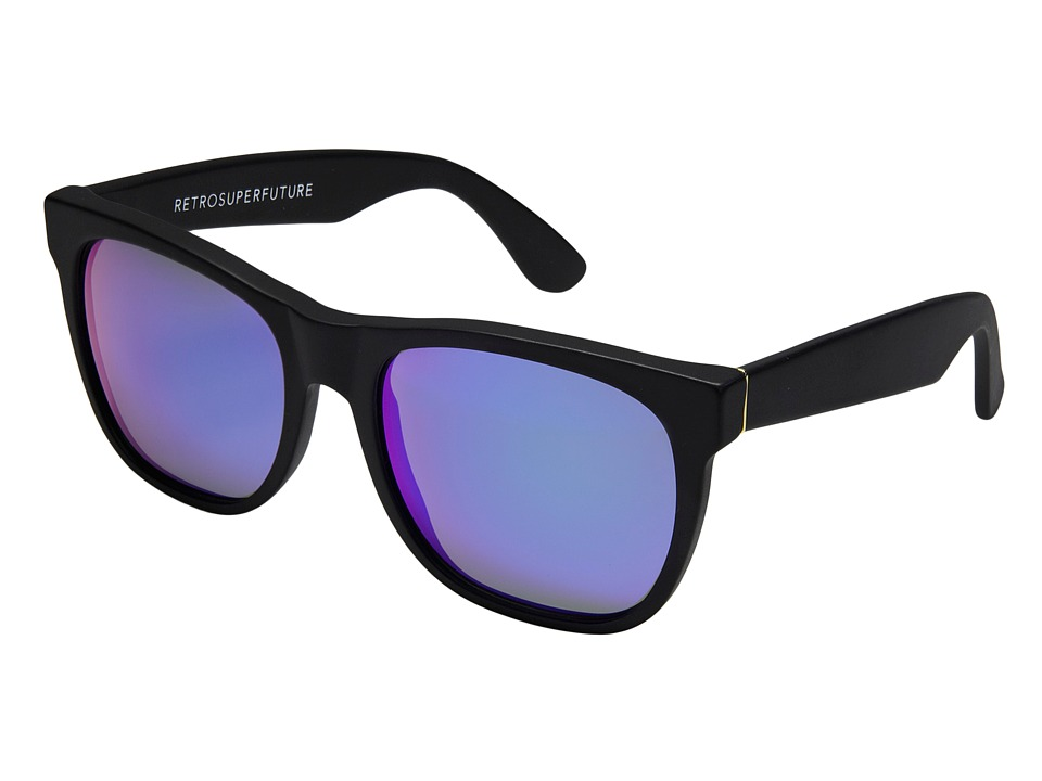 Super - Basic (Matte Black / Mirror Lens) Fashion Sunglasses