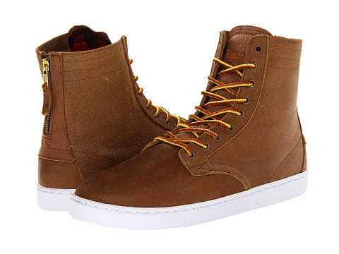 Supra - Wolf (Brown/White) Men's Skate Shoes
