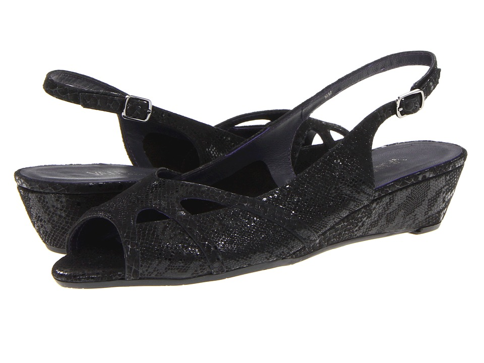 Vaneli - Ertha (Black Pito Print) Women's Sandals