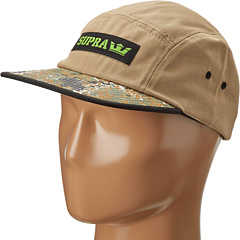 SALE! $16.99 - Save $13 on Supra Mark 5 Panel (Leather Camo) Hats - 43.37% OFF $30.00