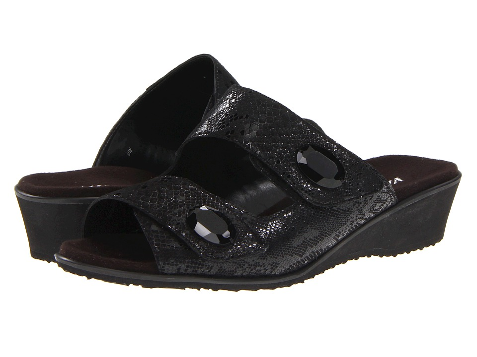Vaneli - Teris (Black Pito Print) Women's Sandals
