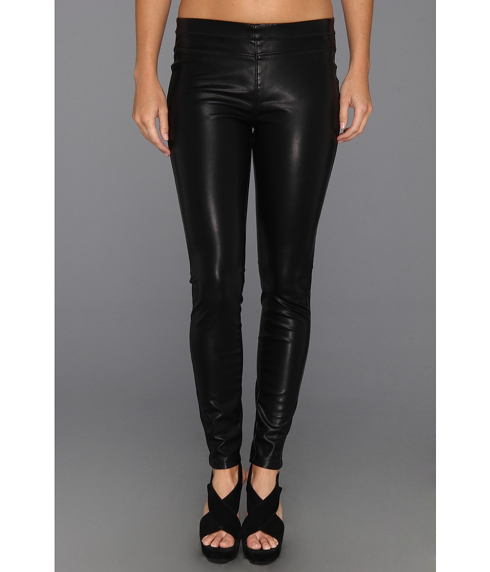 Blank NYC - Vegan Leather Pull On Skinny (Black Vegan Leather) Women's Casual Pants