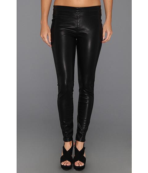 Blank NYC - Vegan Leather Pull On Skinny (Black Vegan Leather) Women