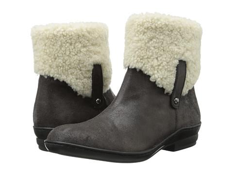 David Tate - Walk Boot (Black) Women's Zip Boots