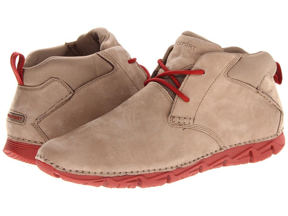 Rockport - RocSports Lite 2 Chukka (Khaki Taupe Nubuck) Men's Lace-up Boots