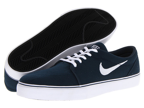 Nike SB - Satire Canvas (Armory Navy/Black/White) Men