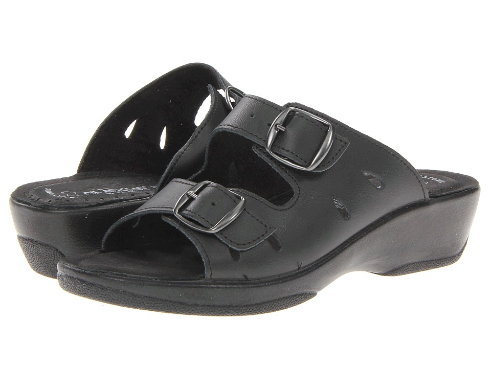 Spring Step - Decca (Black) Women's Sandals