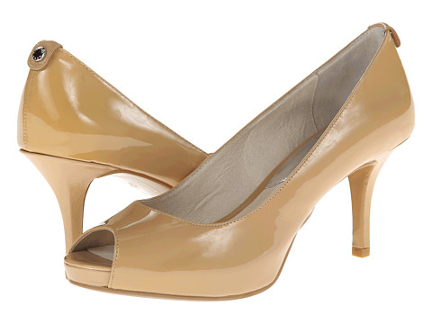 MICHAEL Michael Kors - Mk-Flex Open Toe (Nude) High Heels