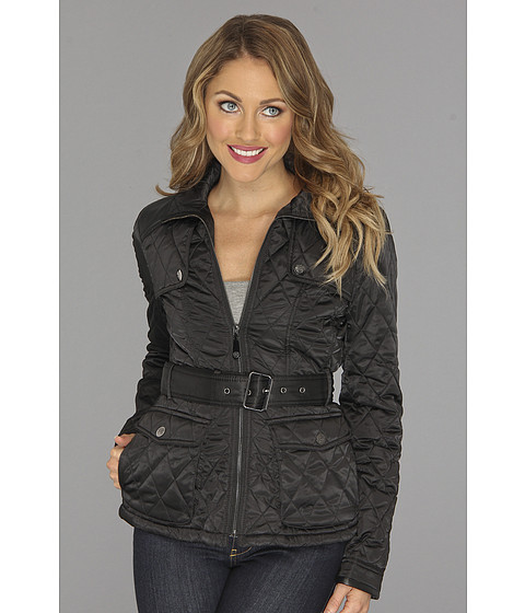 Vince Camuto - Quilted Jacket E8741 (Black) Women's Coat