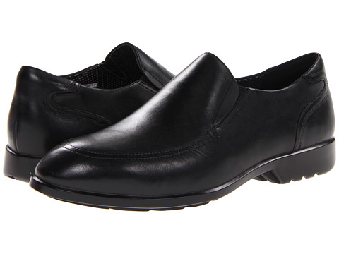 Rockport - Total Motion Business Slip On (Black) Men's Shoes