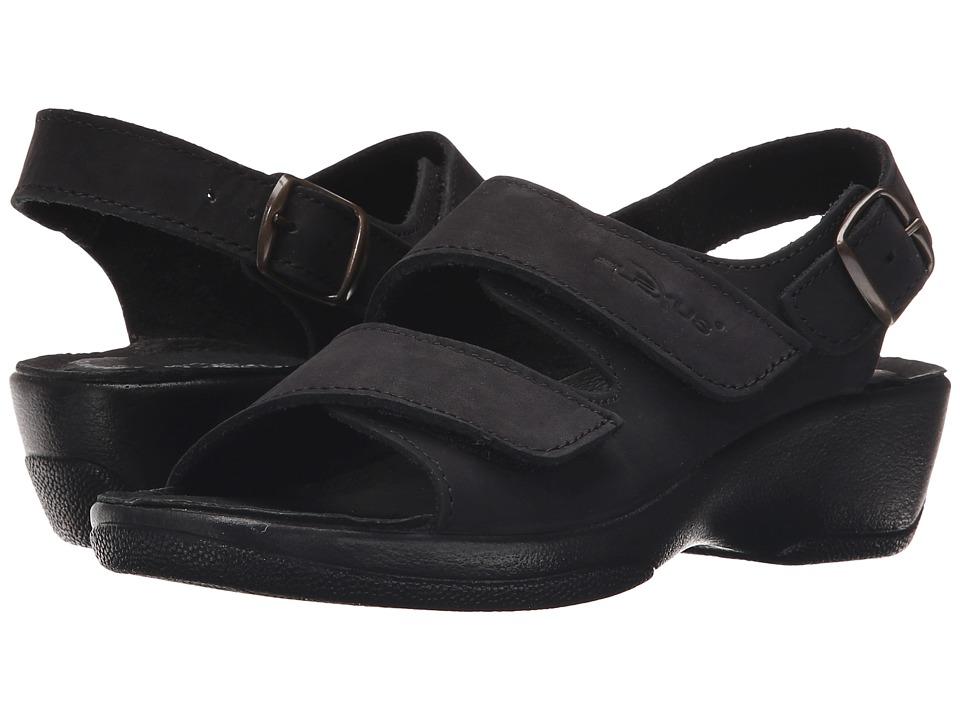 Flexus - Gracious (Black) Women's Sandals