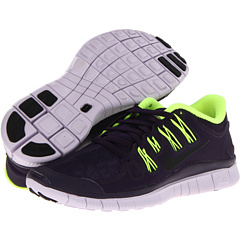 Nike Nike Free 5.0+ Shield (Purple Dynasty/Volt/Violet Frost/Black) Women's Running Shoes