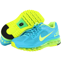 Nike Air Max + 2013 (Gamma Blue/Volt) Women's Running Shoes