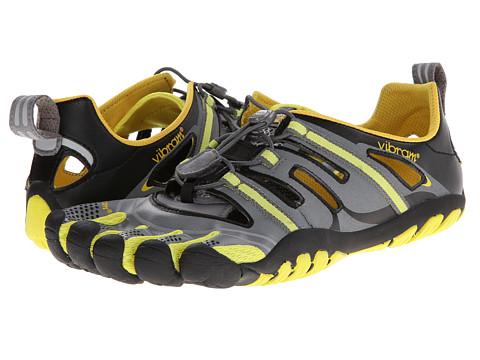 UPC 847100031936 product image for Vibram FiveFingers TrekSport Sandal  (Grey/Yellow/Black) ...