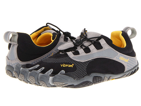 Vibram FiveFingers - Bikila LS (LS Black/Grey) Men's Running Shoes