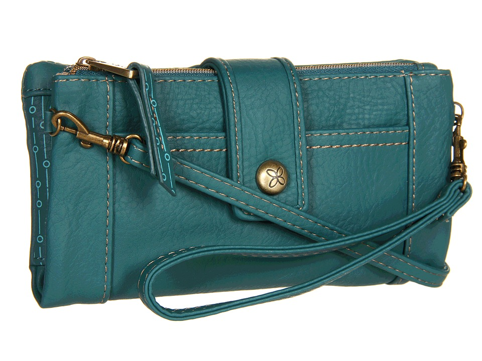 Relic - Vicky Tab Checkbook (Teal) Checkbook Wallet