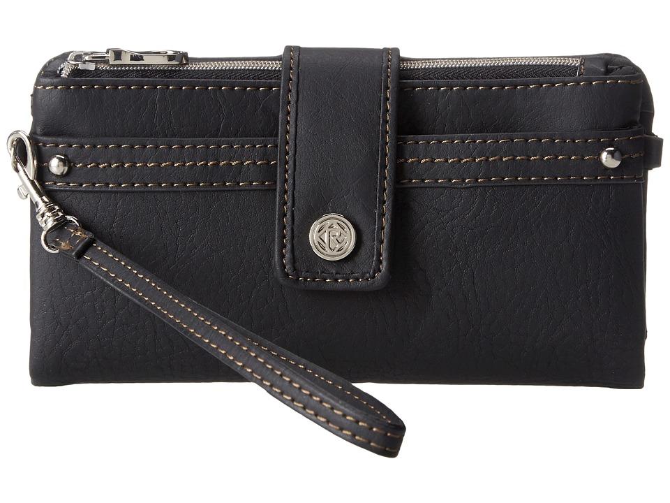 Relic - Vicky Tab Checkbook (Black) Checkbook Wallet