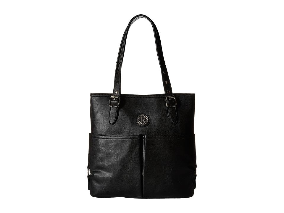 Relic - Bleeker N/S Tote (Black) Tote Handbags