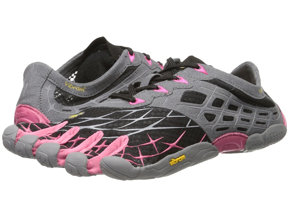 Vibram FiveFingers - SeeYa LS (Black/Grey/Rose) Women's Running Shoes