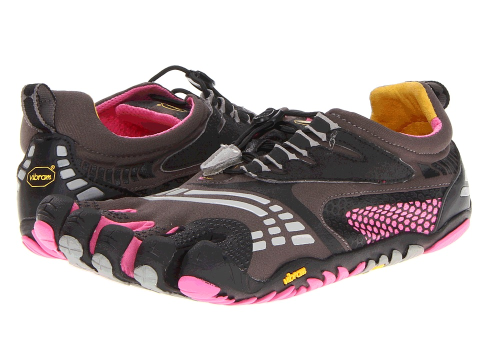 Vibram FiveFingers - Komodo Sport LS (LS Grey/Black/Pink) Women's Running Shoes