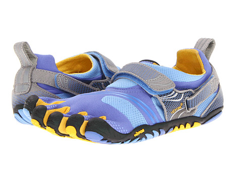 Vibram FiveFingers - Komodo Sport (Blue/Yellow/Grey) Women's Running Shoes