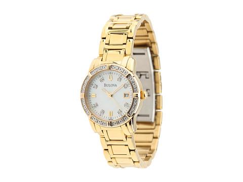 Bulova Women's Diamond - 98R165 (Yellow) Analog Watches