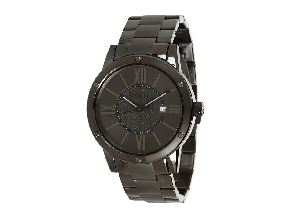 Relic - Payton Bracelet Men's (Gunmetal) Watches