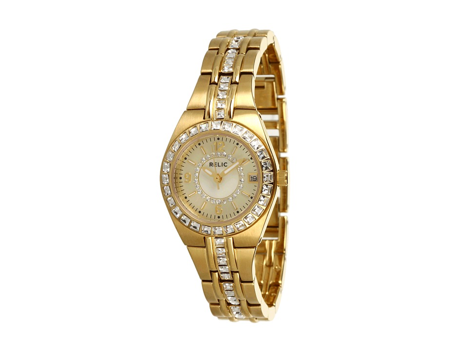 Relic - Queen's Court Glitz (Gold/Champagne) Watches