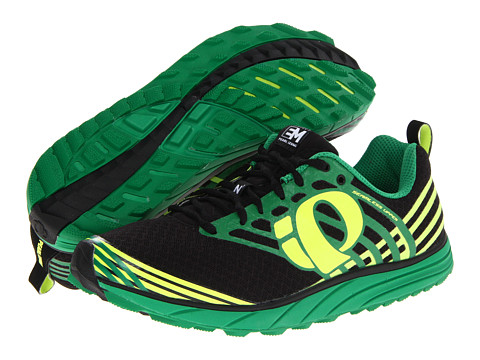 Pearl Izumi - Em Trail N 1 (Black/Screaming Yellow) Men's Running Shoes