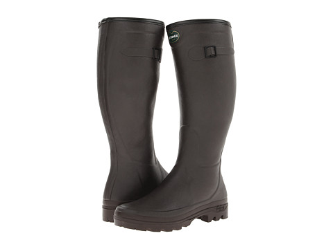 Le Chameau - City All Tracks (Brown) Women's Rain Boots
