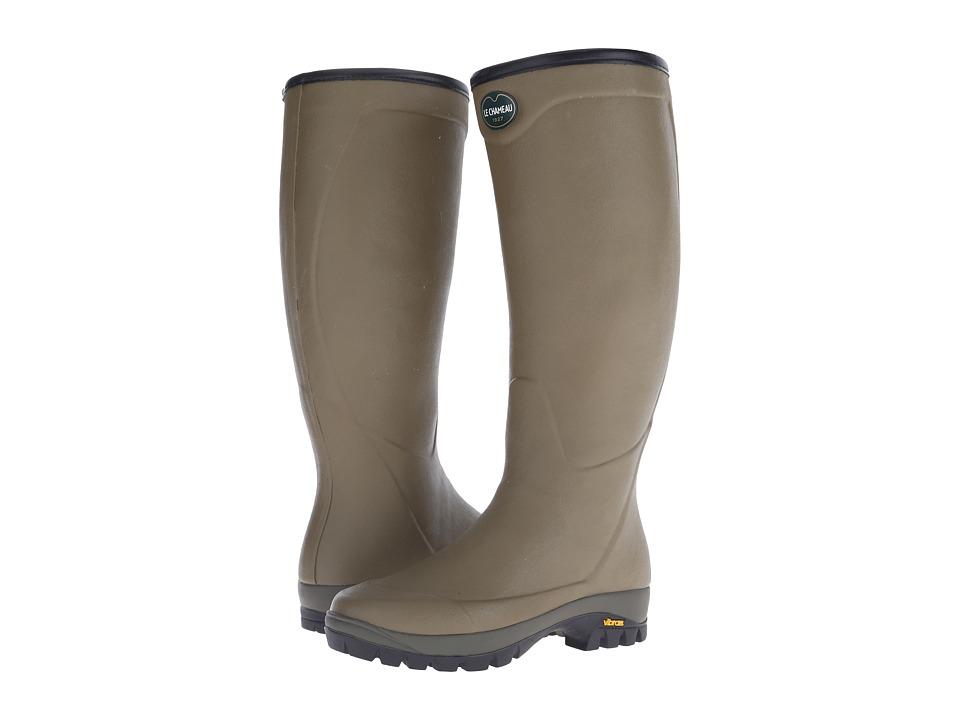 Le Chameau - Country Vibram (Vert Vierzon) Men's Rain Boots