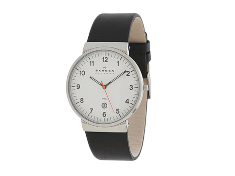 Skagen - Skagen Studio (Black/Silver) Watches