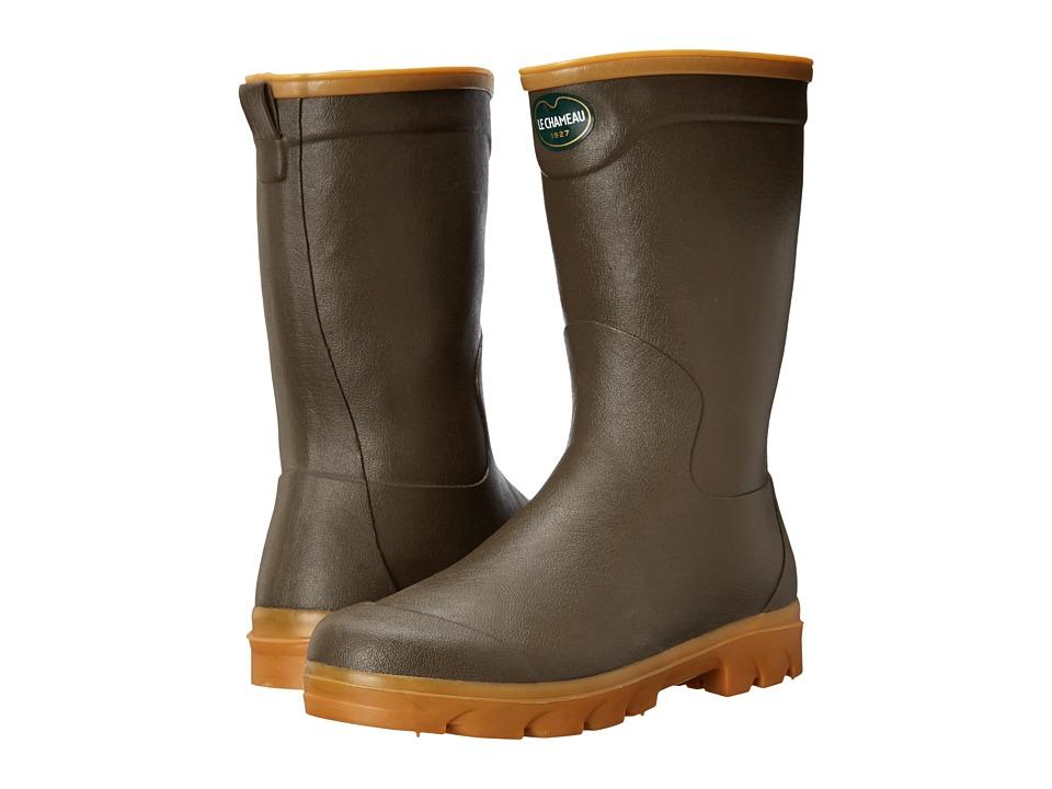 Le Chameau - Anjou (Marron/Taupe) Men's Boots