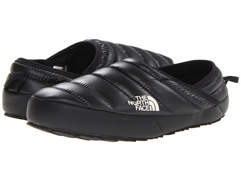 The North Face - Thermoball Traction Mule (Shiny Black/Black) Men's Slippers