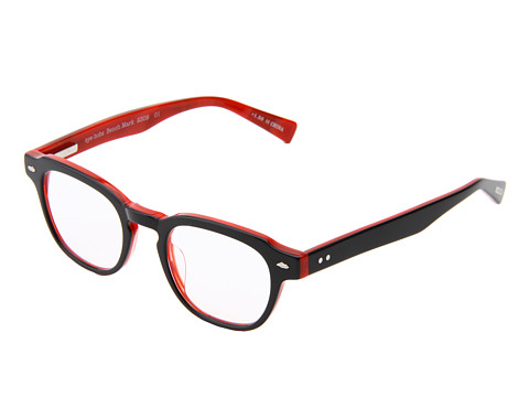 eyebobs - Bench Mark Readers (Black/Red) Reading Glasses Sunglasses