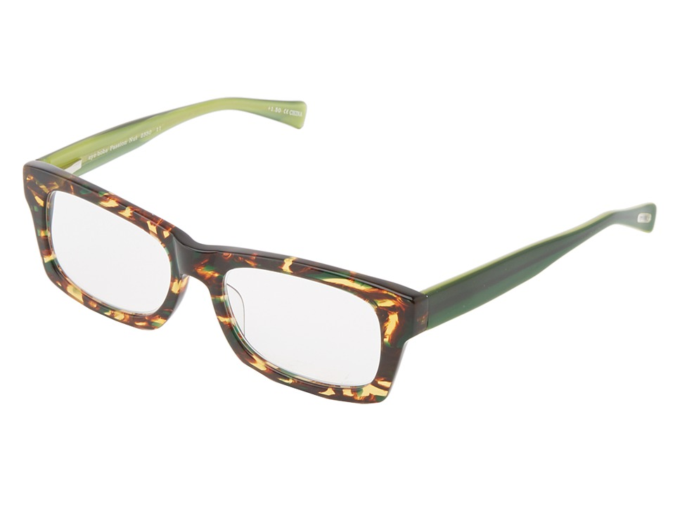 eyebobs - Passion Nut Readers (Tortoise/Green/Green Temples) Reading Glasses Sunglasses