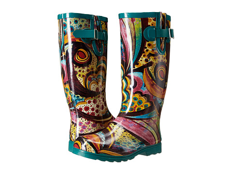 NOMAD - Puddles (Turquoise Monet) Women