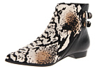 10 Crosby Derek Lam - Annabell (Grey Snake Print Haircalf/Black Eco Leather) - Footwear
