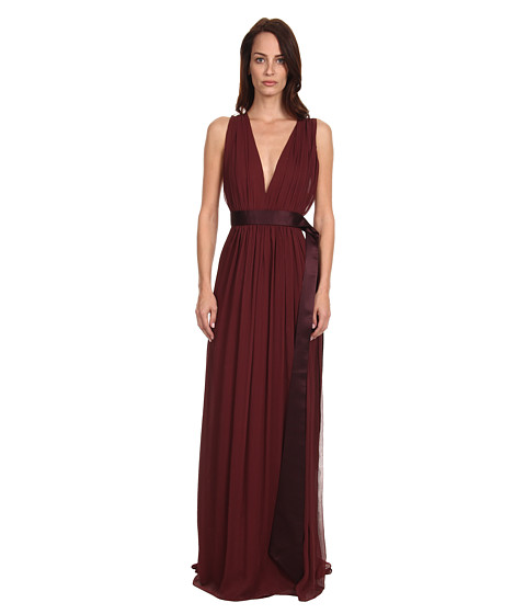 ZAC Zac Posen - ZP-21-7001-14 (Mulberry) Women's Dress
